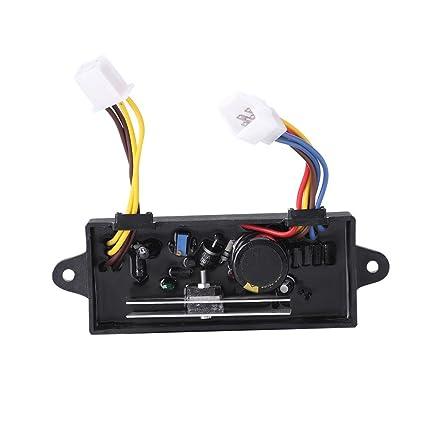 Automático Regulador de Voltaje AVR para KDE6700TA 5KW Fase única Generador Diesel de Gasolina