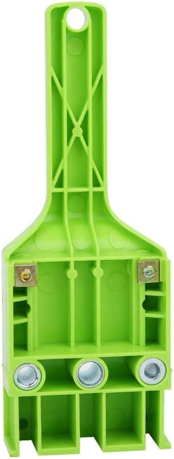 Dowel Jig Outil de guide de forage pour le bois 6mm 8mm 10mm Hole Drill Bit Kit Kit de gabarit de mini-gabarit universel de haute pr/écision de gabarit de goujon de came de 38 pi/èces