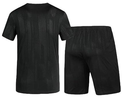 4b999449be6 hongqiantai Mens Summer Casual Jogging Sport T-Shirt and Short Tracksuits  Set 2 Piece 4
