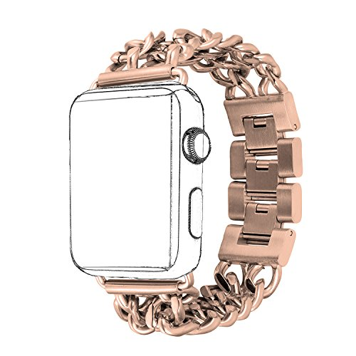 HOMEKE Stainless iWatch Flexible Bracelet