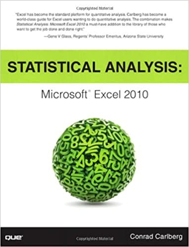 Amazon.com: Statistical Analysis: Microsoft Excel 2010 ...