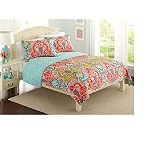 Better Homes and Gardens Quilt Collection, Jeweled Damask Size: King by Better Homes and Gardens