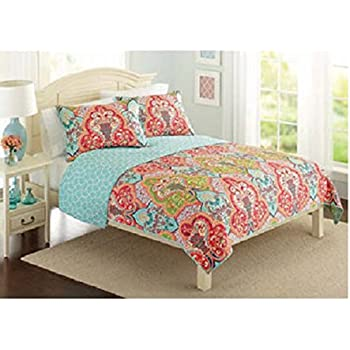 Amazoncom Better Homes And Gardens Quilt Collection Jeweled - Better homes and gardens comforter sets