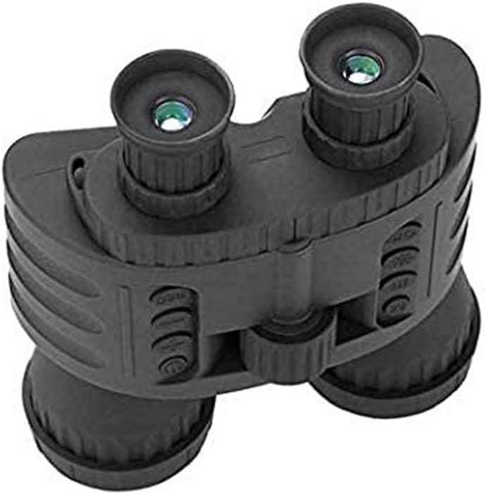 GJNVBDZSF Binoculares Caza 300M GPS HD 720P Vision Night Telescope 4X50 Zoom 1.5