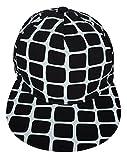 Toyobuy Unisex Hip-Hop Cool Street Baseball Sun Peaked Hat Cap White