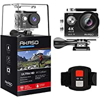 Akaso EK7000 Ultra HD 4k Waterproof Sports Action Camera (Black)