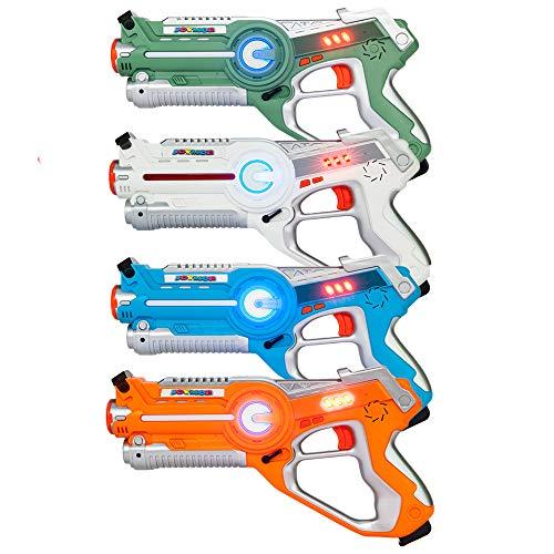 JOYMOR Laser Tag Guns Set of 4 Tag