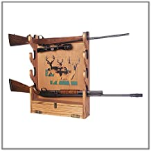 Build Your Own GUN RACK Wall Mounted San Angeo Style Pattern DIY PLANS; So Easy, Beginners Look Like Experts; PDF Download Version so you can get it NOW!
