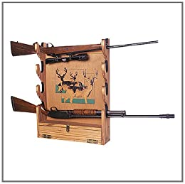Amazoncom Build Your Own Gun Rack Wall Mounted San Angeo Style