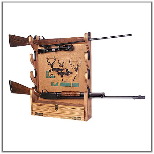 Build Your Own GUN RACK Wall Mounted San Angeo Style Pattern DIY PLANS; So Easy, Beginners Look Like Experts; PDF Download Version so you can get it NOW! (English Edition)