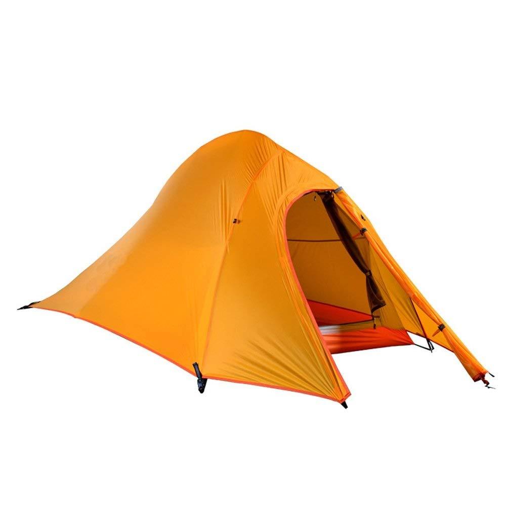 LVESHOP バックパッキングテント、2人用超軽量テント、4シーズン防水テント、反低温、フットプリント高   B07PRJY3TR