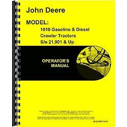 John Deere 1010 Crawler Operators Manual (Sn 21901