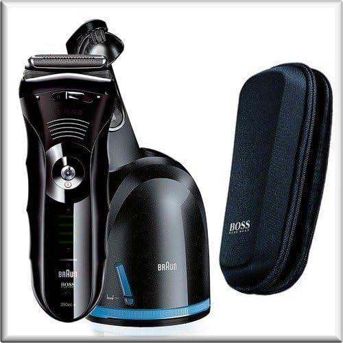 Braun Series 3 390cc - Hugo Boss Edition - afeitadora con estación de limpieza: Amazon.es: Salud y cuidado personal