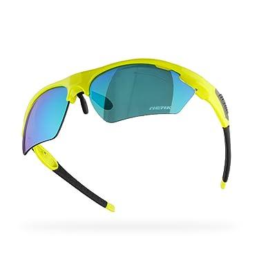 NENKI NK01 - Gafas de Sol Deportivas para Hombre y Mujer, para Correr, Ciclismo