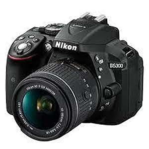 Nikon D5300 - 24 MP, SLR Camera, Black, 18 - 55mm VR Lens Kit