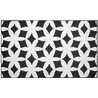 Jean Pierre Geo Flower 24 X 60 Textured Decorative Accent Rug, Runner, Gray/Ivory