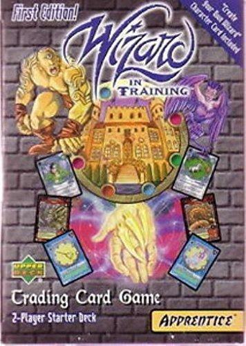 Ccg 2 Player Starter Deck - Wizard in Training CCG Wizard in Training Apprentice Trading Card Game 2-Player Starter Deck First Edition