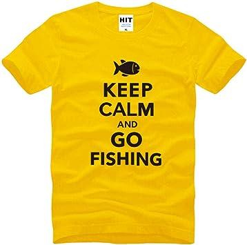 Código Europeo de Cuello Redondo con Logo Creativo de Pesca ...