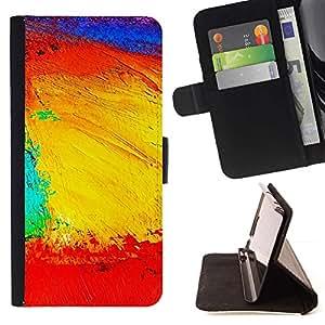 Momo Phone Case / Flip Funda de Cuero Case Cover - Paisaje Geografía Estructura Colores ilustraciones - LG Nexus 5 D820 D821