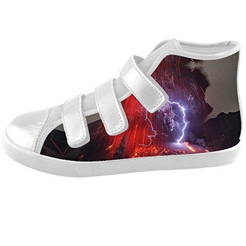 Custom Beleuchtung Kids Canvas shoes Schuhe Footwear Sneakers shoes Schuhe B