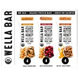 Wella Bar Fresh Protein Bars Variety Pack (12 pk.) (pack of 6)