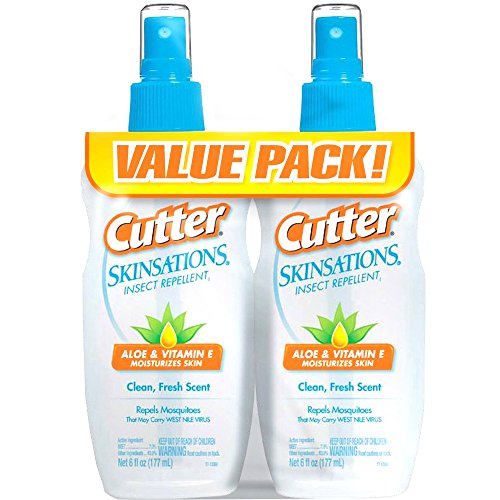 Cutter Skinsations Insect Repellent Mosquitoes