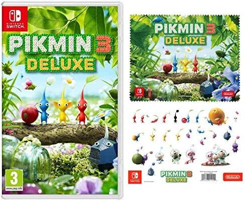 pikmin 3 deluxe switch box art