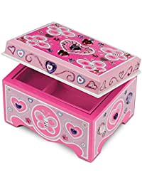 Decorate-Your-Own Wooden Jewelry Box Craft Kit