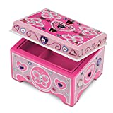 Melissa and Doug Created by Me! Jewelry Box Wooden Craft Kit - The Original (Great Gift for Girls and Boys - Best for 4, 5, 6, 7 and 8 Year Olds)