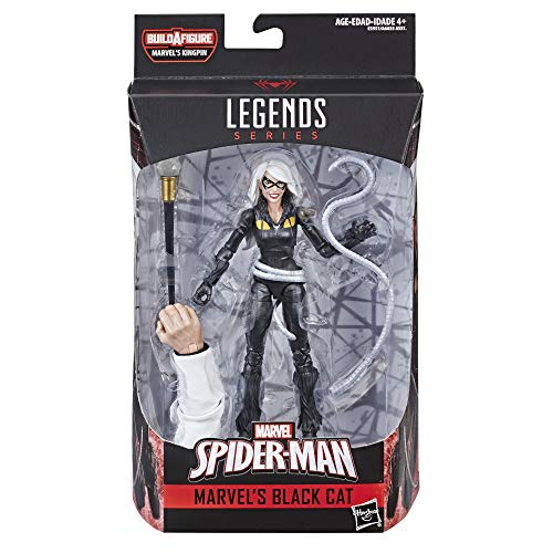 Spider-Man Legends Series 6-inch Marvel's Black Cat ()