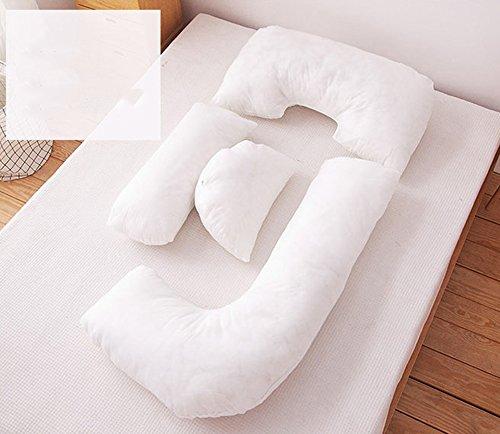 Pure color pregnant women pillows / waist-side sleeping pillow / side pillow / u-pillow / multi-functional abdominal pillow ( Color : C ) by Pregnant women pillow (Image #3)