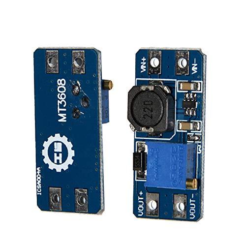 Scrox MT3608 2A Maximum DC DC Boost Power Module Power Module 36mm* 17mm* 14mm