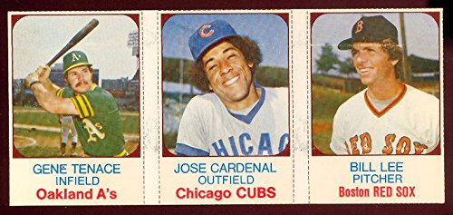 1975 hostess panels (Baseball) Card# 22 tenace, cardenal, lee VG Condition - 1975 Hostess Baseball