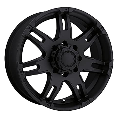 Ultra Wheel 238B Gauntlet Black Wheel (17x9