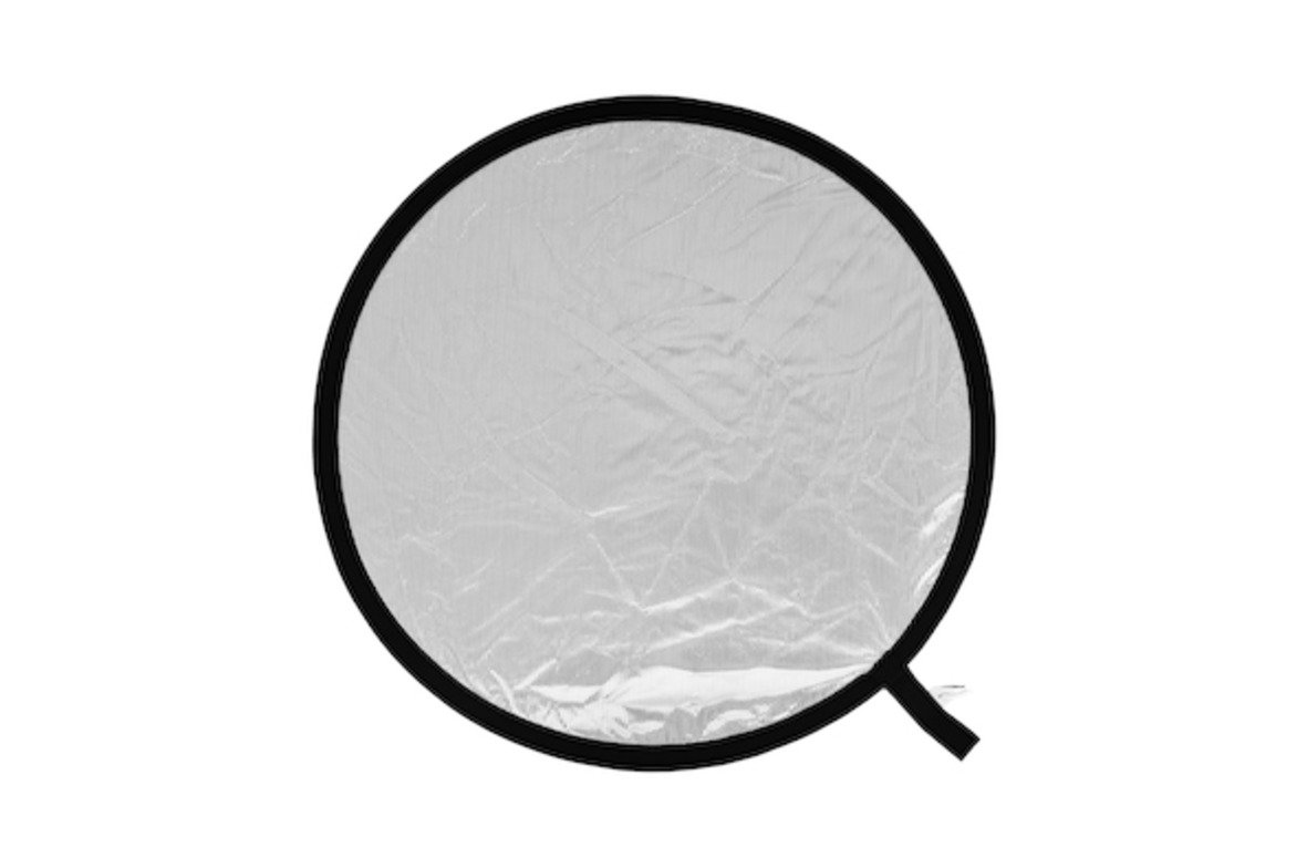 Diametro 120 cm Argento//Bianco Lastolite LL LR4831 Pannello Circolare