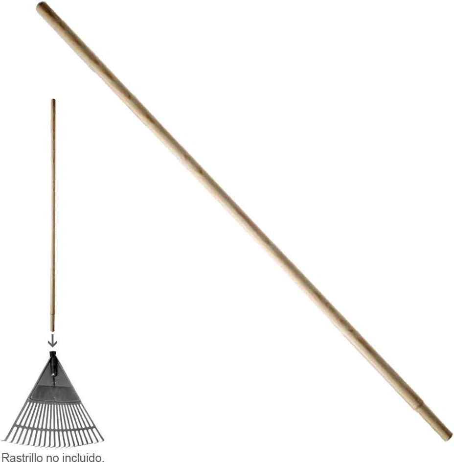 Wolfpack 2290107-Manico per rastrello in legno//plastica, forma conica, 28 x 1200 mm