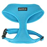Puppia Soft Dog Harness, Sky Blue, X-Small