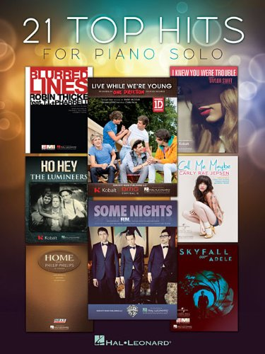 21 Top Hits for Piano Solo ebook