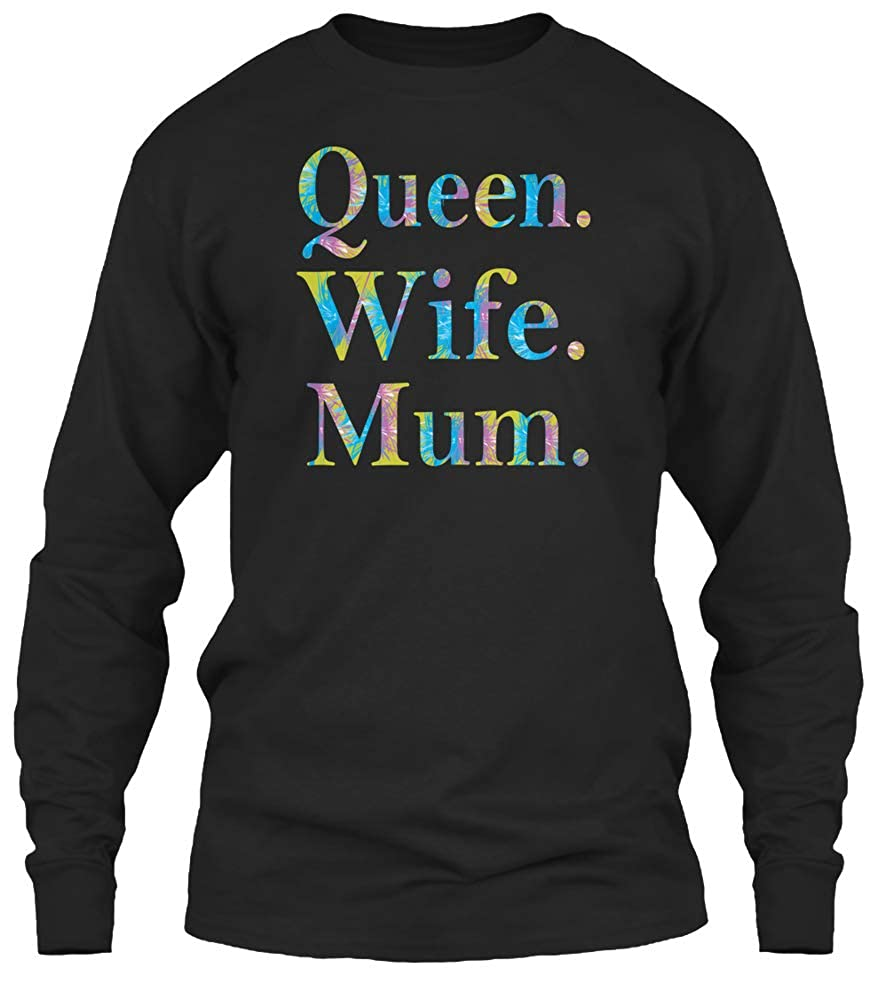 Queens Wife Mum Proud Mom Tshirt 6 1oz Tee