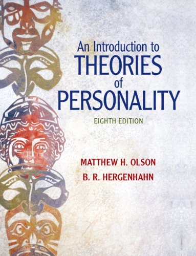 An Introduction to Theories of Personality, 8th Edition