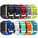 Band for Garmin Vivoactive HR Watch - Soft Silicone Wristband Replacement Watch Band for Garmin Vivoactive HR (10Pcs)