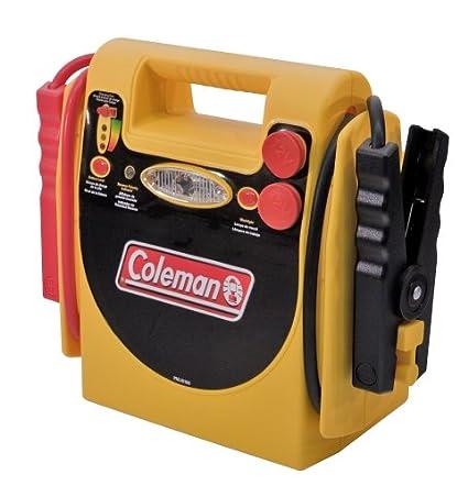 amazon com coleman 18amp hour jumpstart system w compressor rh amazon com Coleman Powermate Battery Jumper Coleman Powermate Drill Charger