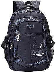 AM SeaBlue Backpacks for Boys School Bookbag for Kids Student School Backpack for Boy