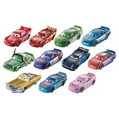 Disney Pixar Cars 3 - Desert Race Diecast Vehicle 11 Car Gift (Action Diecast Car)