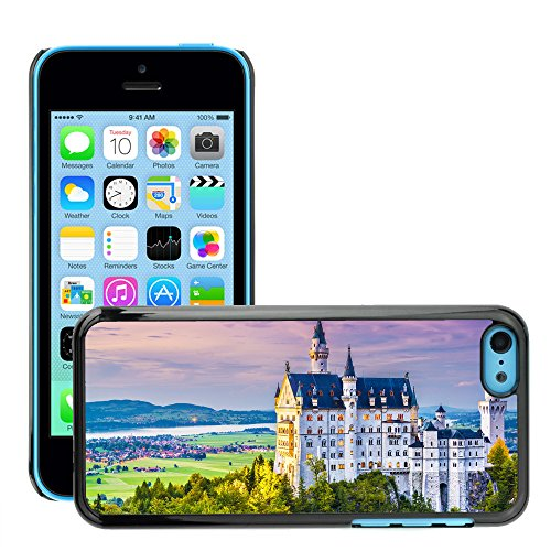 Premio Sottile Slim Cassa Custodia Case Cover Shell // V00002613 Neuschwanstein // Apple iPhone 5C