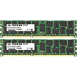 32GB KIT (2 x 16GB) Dell Precision Workstation Series T3600 (ECC Registered) T3610 (ECC Registered) T5600 T7600 DIMM DDR3 ECC Registered PC3-12800 1600MHz Dual Rank RAM Memory Genuine A-Tech Brand