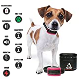 """Our K9 Training Made Easy – Bark Collar for Large Dogs - Sound (Beep) & Shock Pain – Great for Medium – Large Sized Dogs. Waterproof and Vibration Activated. """"Mauve"""""""