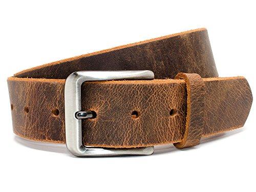 [Nickel Free Roan Mountain Distressed Belt (36