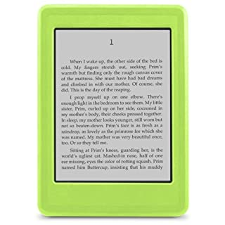 does not fit Kindle Paperwhite or Touch Marware SportGrip Silicone Skin Case for Kindle Cover White