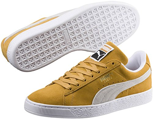 Puma Mocka Klassiska Sneaker Honung Senap-puma White